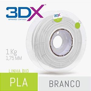 Filamento Pla Bio (Cana) Branco 1,75 Mm 1kg