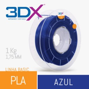 Filamento Pla Azul  1,75 Mm 1Kg Basic Full