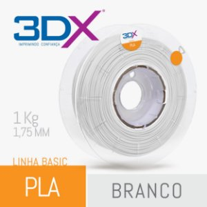 Filamento Pla Branco 1,75 Mm 1kg Basic Full