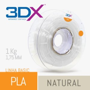 Filamento Pla Basic 1,75 Mm 1kg Natural