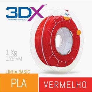 Filamento Pla Basic 1,75 Mm 1kg Vermelho