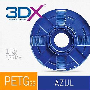 Filamento PETG 1Kg 1,75 Azul S2