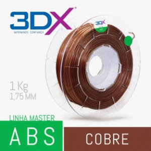 Filamento ABS 1kg 1,75 Cobre