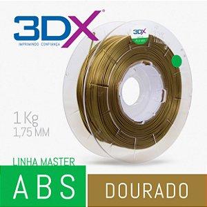 Filamento ABS HI 1kg 1,75 Dourado