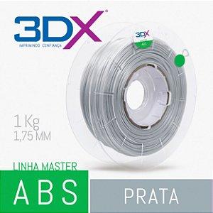 Filamento ABS 1kg 1,75 Prata