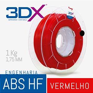 Filamento ABS HF 1kg 1,75 Vermelho