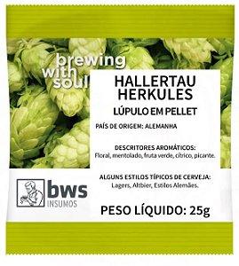 LUPULO HERKULES - 25 GR - EM PELLET