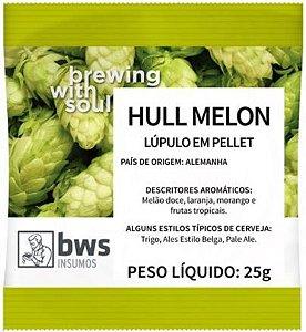 LUPULO HULL MELON - 25GR - EM PELLET