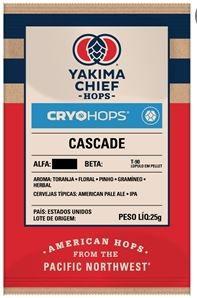 LUPULO CASCADE CRYO HOPS - 25GR - EM PELLET
