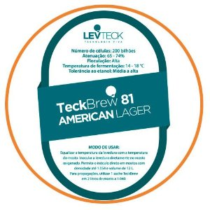 FERMENTO TECKBREW - AMERICAN LAGER - TB81