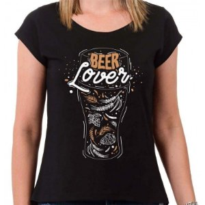CAMISETA BEER LOVE FEMININA