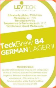 FERMENTO LEVTECK  - GERMAN LAGER - TB84