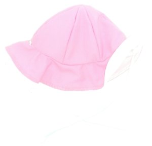 Chapéu dupla-face rosa+branco