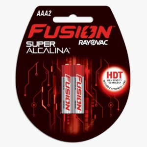 PILHA FUSION SUPER ALCALINA AAA2