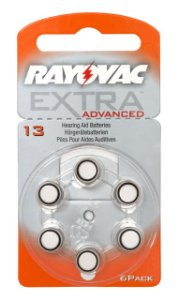 Pilha Auditiva 13 Extra Advanced - Rayovac