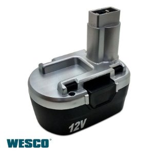 Bateria 12V (Ni-cd) para Parafusadeira e Furadeira WS2600K2 - Wesco