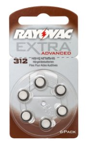 Pilha Auditiva 312 Extra Advanced - Rayovac