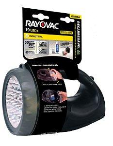 Lanterna Híbrida (Recarregável) 19 LEDs Bivolt - Rayovac