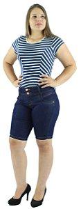 Bermuda Feminina Média Jeans Azul Tradicional Ref.3001