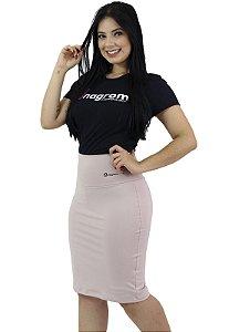 Saia Fitness Evangélica Short Interno Rosé Anagrom Ref.6002