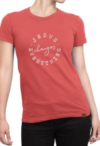 T-shirt Estampa Moda Evangélica Anagrom Melancia Ref.C007