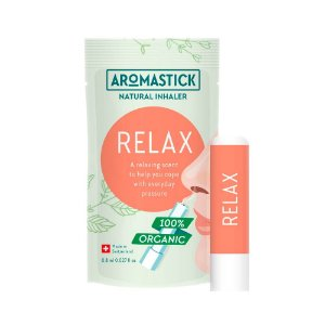Inalador Nasal Orgânico Relaxante – AromaStick