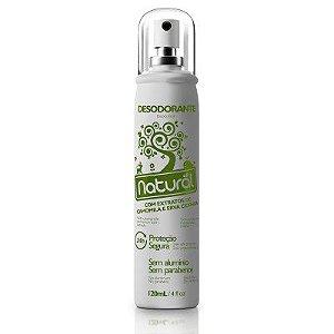 Desodorante Spray Natural Vegano com Camomila e Erva Cidreira Natural 120 ml