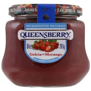 Geleia Queensberry sabores 280 g