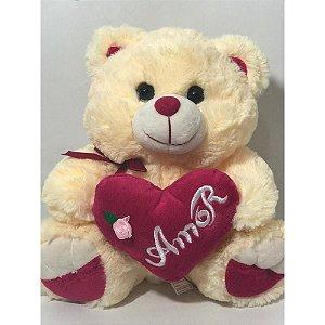 Urso pelucia 30 cm