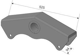 Balança Carreta Noma Modelo Fenix 60mm