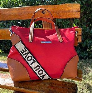 Bolsa Maitê Vermelha