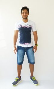 ec99416dde Bermuda Masculina Lavada Cinza Claro - Desafio Jeans -  VAREJO