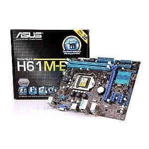 Placa Mãe Asus Intel H81M-E Lga 1150