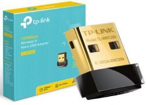 Adaptador Wireless USB TP-Link TL-WN725N Nano 150 Mbps