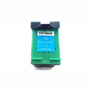 Cartucho de Tinta Compatível HP 93 Colorido C9361WB D4100 C3100 C3140