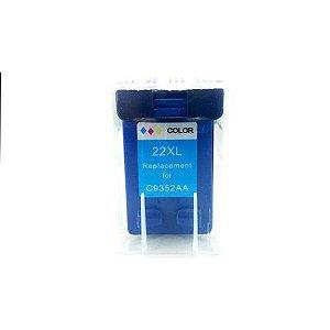 Cartucho de Tinta Compatível HP 22XL Colorido