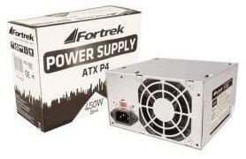 Fonte ATX Fortrek Max 450W 200W Real 24 Pinos Sata Power Supply PWS-2001