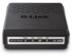 Modem Adsl2+ D-Link DSL-2500E