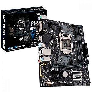 Placa Mãe Asus Prime H310M-K Intel LGA 1151