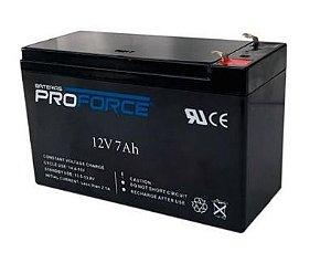 Bateria Selada 12V 7A Recarregável PROFORCE