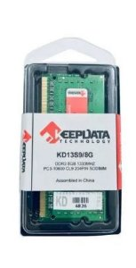 Memória 8GB / DDR3 1333MHZ Notebook KEEPDATA