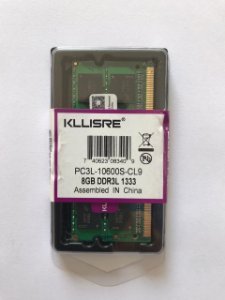 Memória 08GB DDR3L Notebook Kllisre 1333Mhz