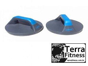 Apoio p/ Flexão de Braço Giratório - Terra Fitness