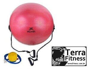 Bola Suiça + extensores 65cm - Terra Fitness
