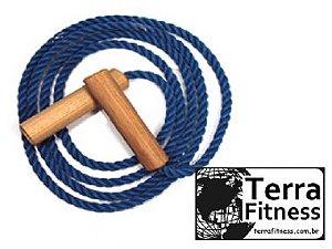 Corda de pular em Nylon 2,25cm - Terra Fitness