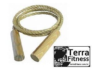 Corda de pular em Sisal 2,50cm - Terra Fitness