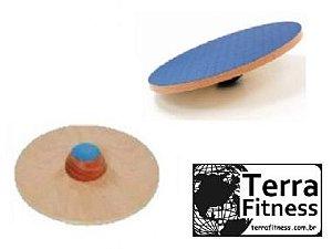 Disco de equilíbrio em Madeira 39Ø - Terra Fitness