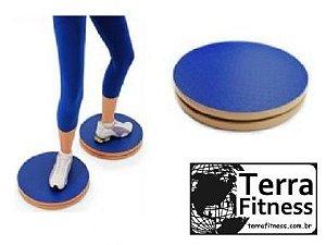 Disco de rotação em madeira 39Ø - Terra Fitness