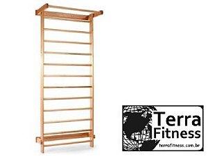 Espaldar em madeira 13 bastões - Terra Fitness