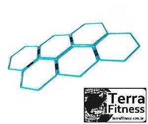 Grade de Agilidade tipo Colméia 6 pçs - Terra Fitness